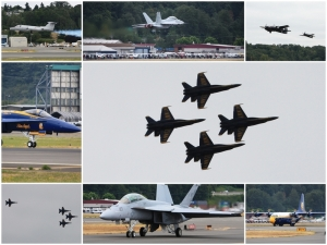 My photos from Friday's practice run of the 2010 Seafair Key Bank Air Show