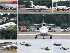 My photos from plane spotting during the practice run for Seafair 2011.