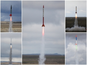 My photos from WAC's first launch of 2011.